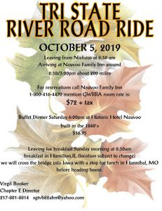 TRI STATE RIVER RIDE OVERNIGHT @ Navoo Family Inn | Nauvoo | Illinois | United States